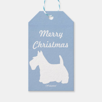 Wedgewoof Scottish Terrier Gift Tags
