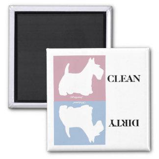 Wedgewoof Scottish Terrier Magnet