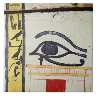 Wedjat Eye, detail from the sarcophagus cover of t Tile