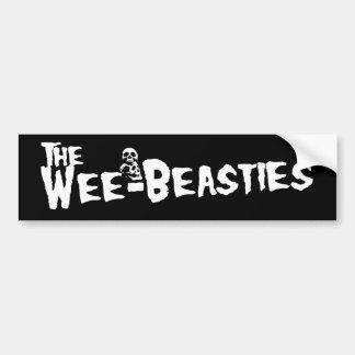 Wee-Beasties Sticker Bumper Sticker