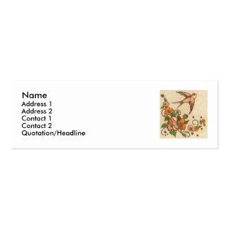 wee bird business card
