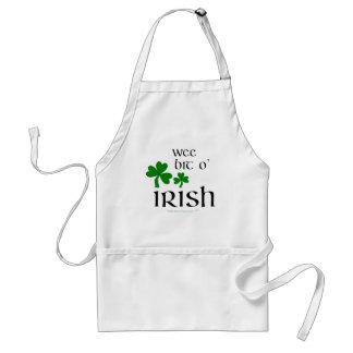 Wee Bit O' Irish Shamrock Apron