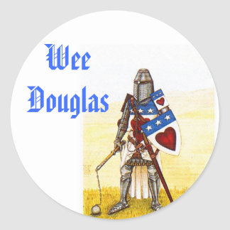 Wee Clan Douglas Stickers - Customized