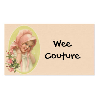 Wee Couture Children's Wear Business Card