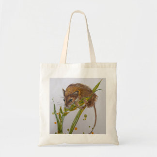 Wee mouse harvest mouse shopping bag