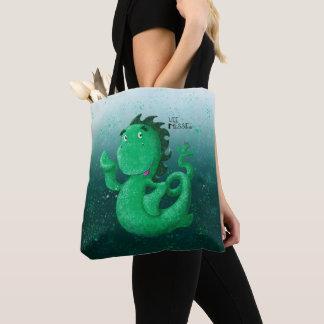Wee Nessie Undersea World Tote Bag