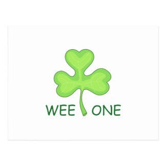 WEE ONE CLOVER POSTCARD