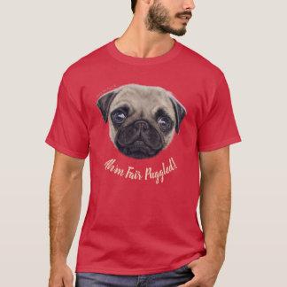 "Wee Shug The Pug! ""Ah'm Fair Puggled!"" T-Shirt"