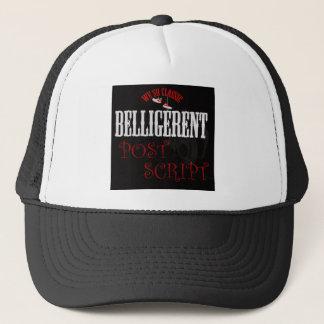 Wee so classic trucker hat (black & white)