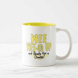 Wee Wee-ed Up Anti Obama Gear Mug