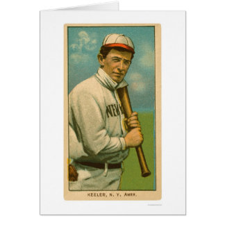 Wee Willie Keeler Baseball 1909 Card