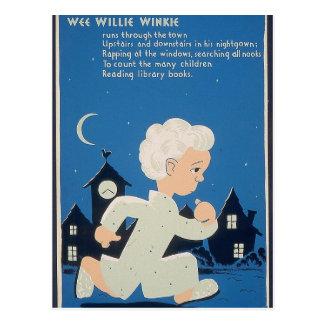 Wee Willie Winkie Postcard