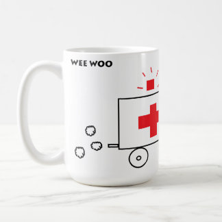 Wee Woo Ambulance Coffee Mug