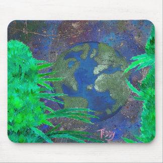 """Weed Art The World"" @TeddyArt 2012 Mousepad"