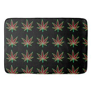 weed bath mat
