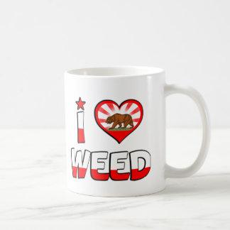 Weed, CA Coffee Mugs