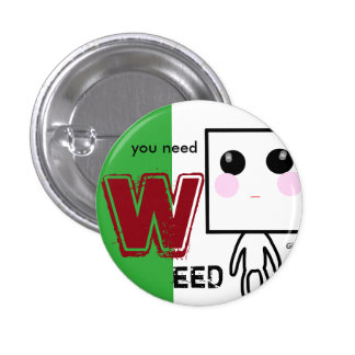 WEED can badge RED
