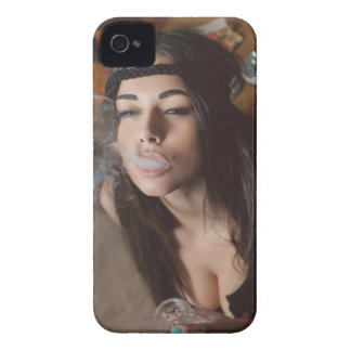 Weed Girl iPhone 4 Case-Mate Case