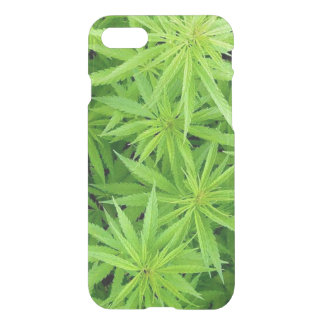 Weed iPhone 7 Clear Case