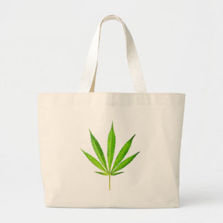 WEED LEAF LARGE TOTE BAG