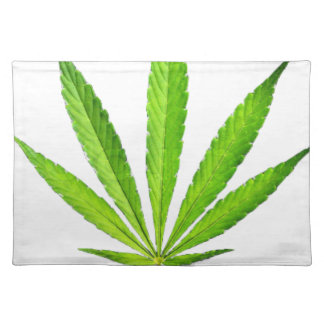 WEED LEAF PLACEMAT