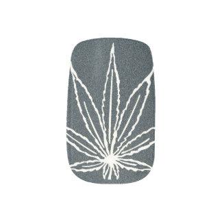 Weed Nails Nail Wrap