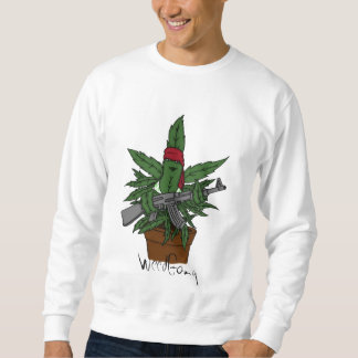 Weed plant sweatshirt by WeedGang