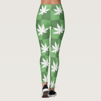 Weed: The Checkered Path Leggings