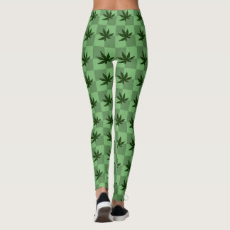 Weed: Under the Shadow of the Leaf Leggings