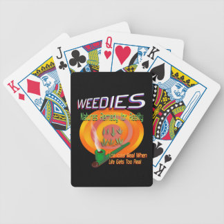Weedies: Nature's Remedy for Reality Poker Deck