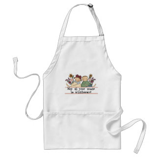 Weeds Be Wildflowers Tshirts and Gifts Adult Apron