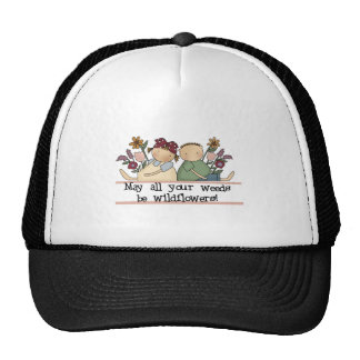 Weeds Be Wildflowers Tshirts and Gifts Mesh Hats