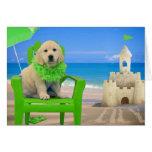 Week 8 - Beach Lily Greeting Card