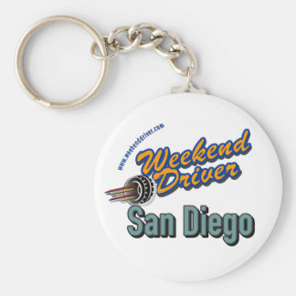 Weekend Driver Keychain