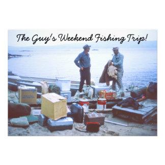 Weekend Fishing Trip Invitation