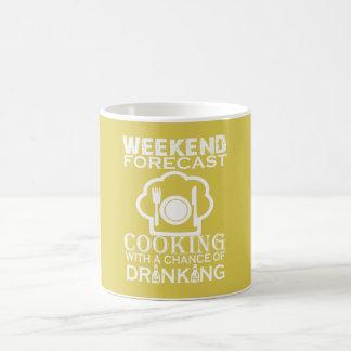 WEEKEND FORECAST COOKING COFFEE MUG