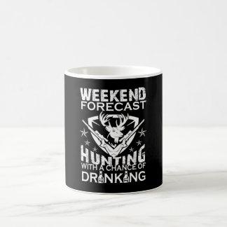 WEEKEND FORECAST HUNTING COFFEE MUG