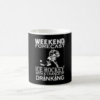 WEEKEND FORECAST ICE HOCKEY COFFEE MUG