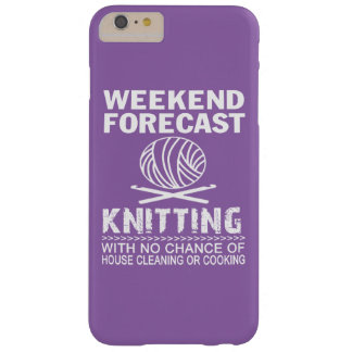 WEEKEND FORECAST KNITTING BARELY THERE iPhone 6 PLUS CASE