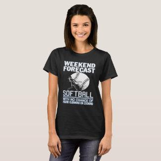 WEEKEND FORECAST SOFTBALL T-Shirt