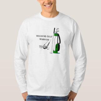Weekend Golf Warrior Design T-Shirt