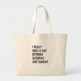 weekend large tote bag