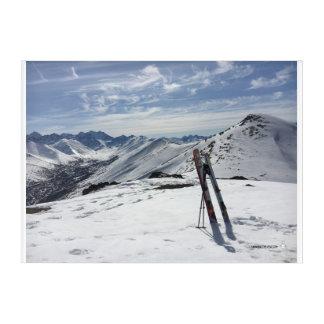 Weekend Ski Days Acrylic Wall Art