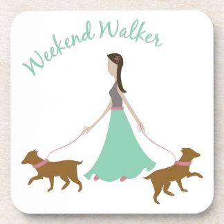 Weekend Walker Beverage Coasters