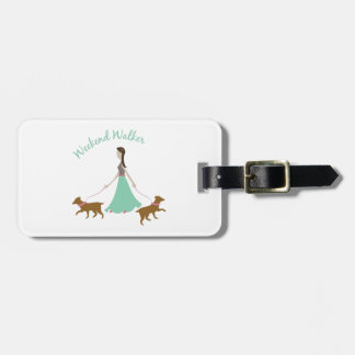 Weekend Walker Luggage Tag