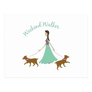 Weekend Walker Post Cards