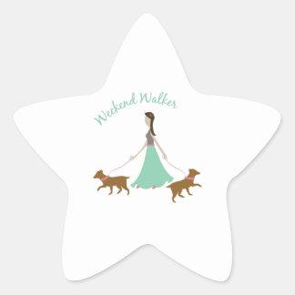 Weekend Walker Star Sticker
