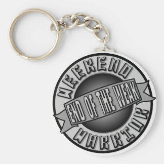 Weekend Warrior Key Ring
