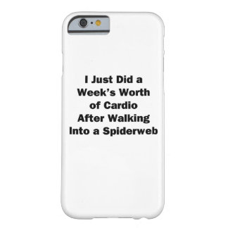 Week's Worth of Cardio Barely There iPhone 6 Case
