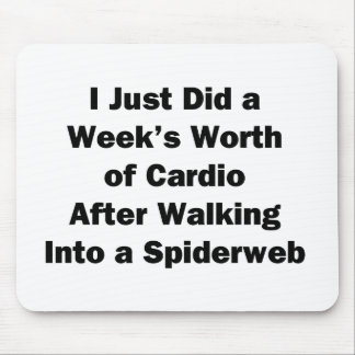 Week's Worth of Cardio Mouse Pad